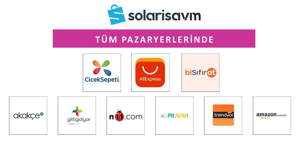Solaris AVM Tüm Pazaryerlerinde
