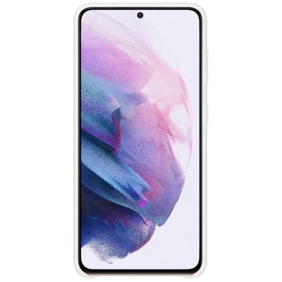Samsung Galaxy S21 Akıllı Led Kılıf - Beyaz EF-KG991CWEGTR