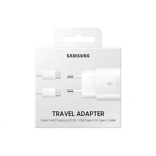 Samsung Kablosuz Hızlı Şarj Aleti Type-C 25W - Beyaz EP-TA800NWEGWW