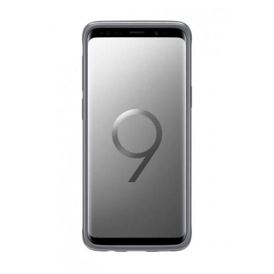 Samsung S9 G960 Protective Standing Kılıf Gümüş EF-RG960CSEGWW